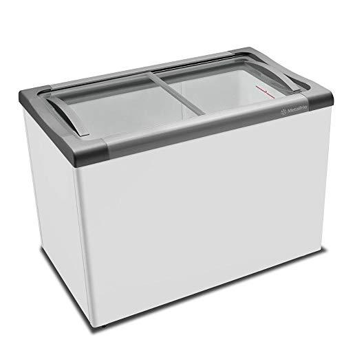 Freezer Horizontal Congelados Tampa Vidro 284L Nf30s Metalfrio 127V