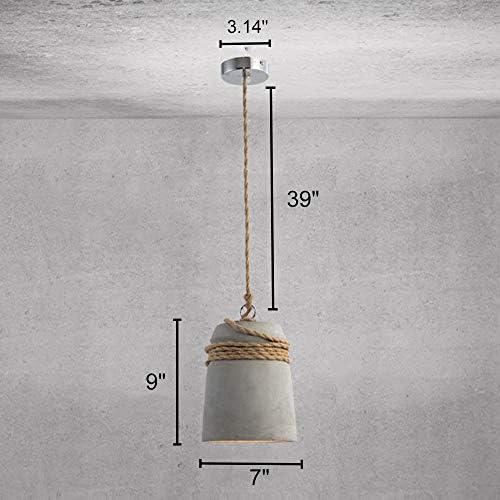 Cement pendant light _image1