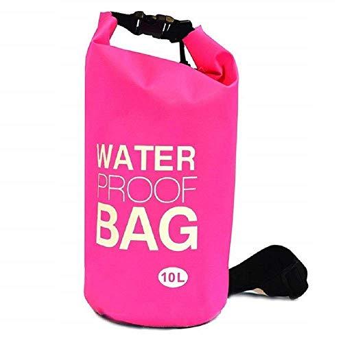 Romino Waterproof 10 Liter Dry Sack Bag Storage Bag Organizer Traveling, Camping, Hiking,...