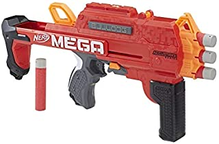 NERF MEGA - Bulldog + 6 Official Accustrike MEGA Darts - Kids Toys & Outdoor Games - Ages 8+