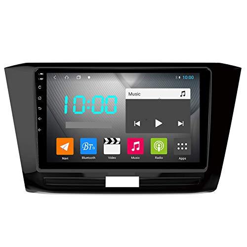 W-bgzsj Android 9.0 Coche Estéreo Doble DIN para Volkswagen Passat 2016-2018 GPS Navigation NAVEGACIÓN DE LA Cabeza DE 9 Pulgadas MP5 Multimedia Player Radio Video Receptor con 4G WiFi DSP