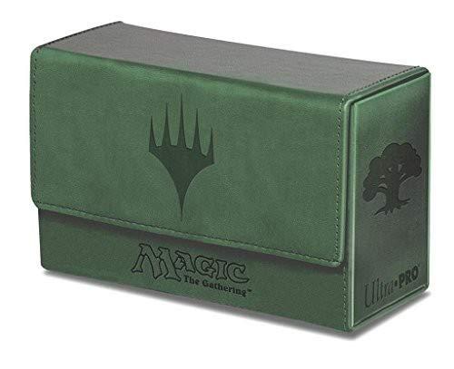 Ultra Pro Magic The Gathering: Dual FlipBox - Green Mana (Matte Finish)