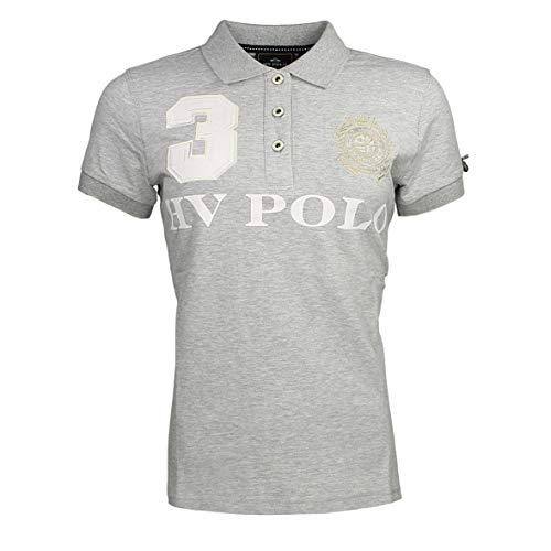 HV Polo Damen Poloshirt FAVOURITAS EQ silvergrau Melange S