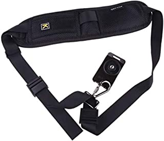 Quick Rapid Camera Single Shoulder Sling Black Belt Strap for SLR DSLR Black