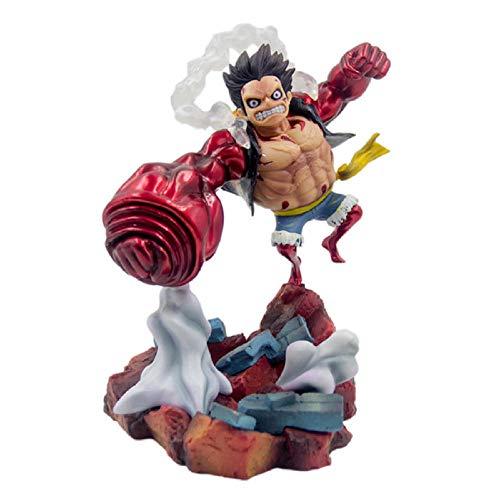 Figura De Animeanime Japonés One Piece Gear 4 Fourth Monkey D Luffy Big Hand Ver.Estatua De PVC Figura De Colección Modelo De Juguete De Regalo 19Cm