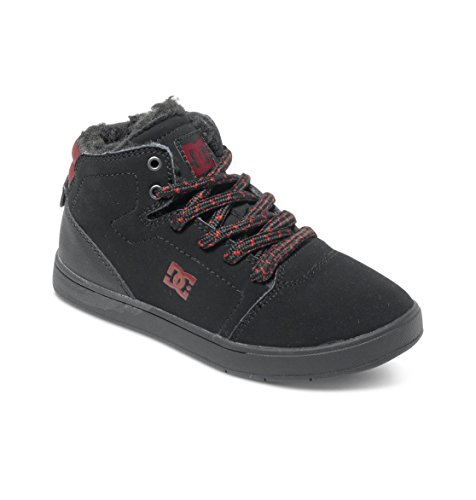 DC Shoes Crisis High Wnt, Unisex Baby Krabbelschuhe,  ,Schwarz (black/battleship/ath) ,33 EU