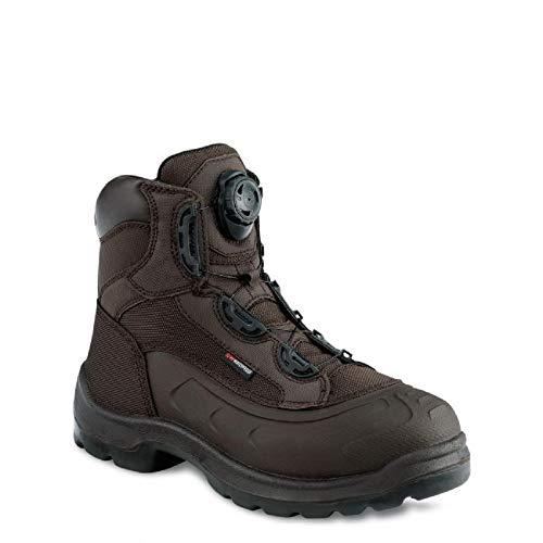 Red Wing 3231 Mens 6 Inch Waterproof Metal Safety Boot Brown (UK 8, Brown)