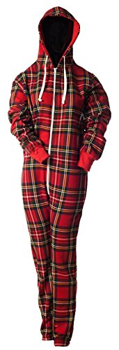 I Luv Ltd Onesies Nightwear Scotland Tartan Design Stewart Royal Large