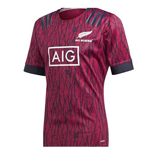 2020 Nueva Zelanda Inicio Rugby Jersey, Deportes de Verano Transpirable Ocio Camiseta de fútbol Polo, cumpleaños, Mejor Regalo de cumpleaños XXL