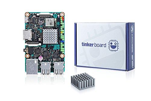 Asus Tinker Board (Einplatinencomputer, ARM-basiert, Rockchip Quad-Core RK3288, 2GB DDR3, 4x USB 2.0, RTL GB LAN)
