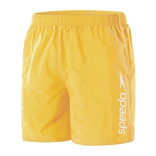 Speedo Scope 16 Wsht Am Yellow, Costume da Bagno Boxer Uomo, Giallo, L