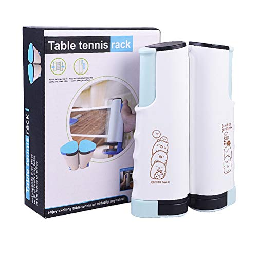 New CWYPC Table Tennis Net, Retractable Ping Pong Net Instant Table Tennis Ping Pong Table Top,Inclu...