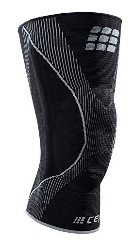 CEP – Ortho Knee Brace Unisex   Kniebandage zur Unterstützung des Meniskus und der Patella in schwarz/grau   XXL   Größe VI