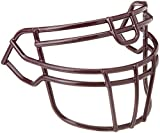 Schutt Sports Super Pro Carbon Steel Varsity ROPO-UB-DW Football Faceguard, Maroon