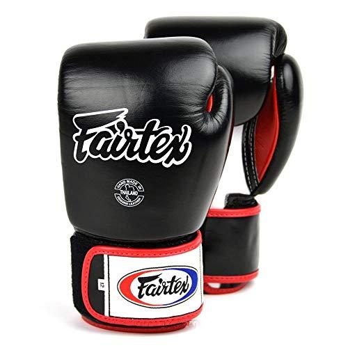 Fairtex Guantes de Boxeo 3 Tonos - Negro 10 oz