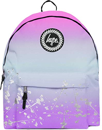 Hype Pastel Fade Speckle Silver Backpack Bag Multi
