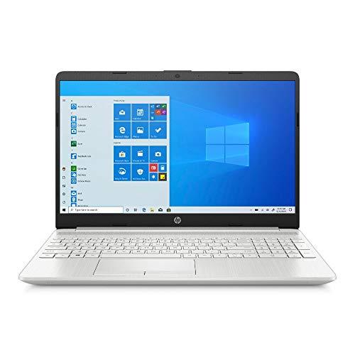 HP 15-dw1219ng (15,6 Zoll / FHD) Laptop (Intel Pentium Gold 6405U, 8GB DDR4 RAM, 256GB SSD, Intel UHD Grafik, Windows 10, QWERTZ) silber