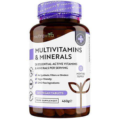 Photo de multivitamines-et-mineraux-de-nutravita