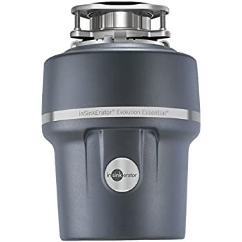 InSinkErator Garbage Disposal + Air Switch + Cord, Evolution Essential XTR, 3/4 HP Continuous Feed