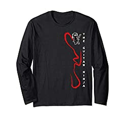 The Guitar Ninja Long Sleeve T-Shirt