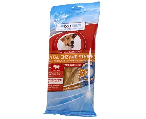 Bogadent Dental Enzyme Stripes Medium Hund 100 g