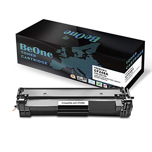 BeOne Compatible Toner Cartridge Replacement for HP 48A CF248A (1-Black) Laserjet Pro MFP M15w M15a M16w M16a M28w M28a M29w M29a Printer