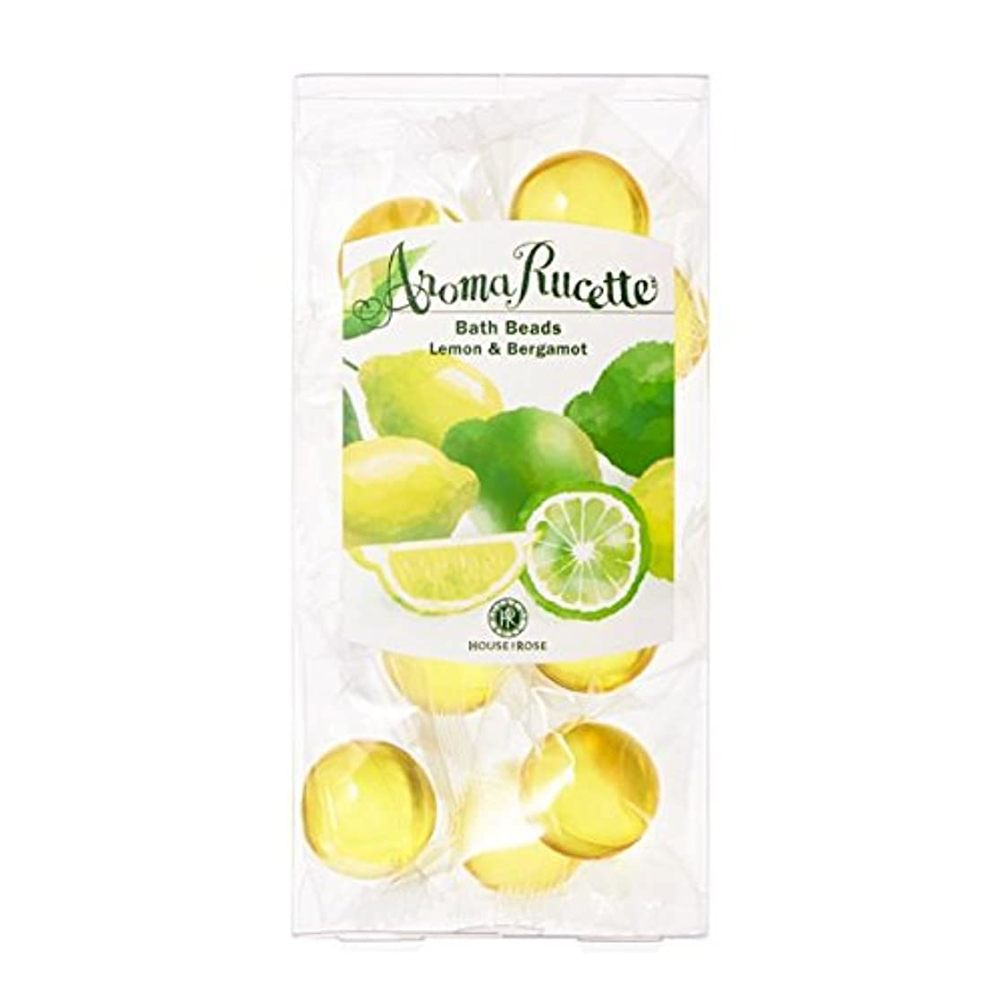 トラクター未満カートハウスオブローゼ アロマルセット バスビーズ 7g×11個 (レモン&ベルガモットの香り)