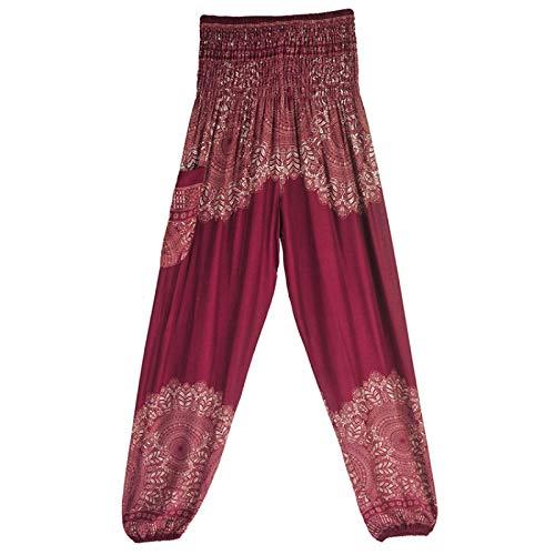 Luandge Pantalones de chándal Plisados con Micro Estampado de Cintura Alta para Mujer, Pantalones Deportivos Informales atléticos para Correr de Yoga con Bolsillos Medium