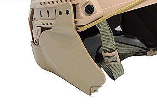 ATAIRSOFT Seitendeckel für Schneller Helm Airsoft Taktische Schiene Militär Paintball Helm Zubehör Helm Gehörschutzabdeckungen DE