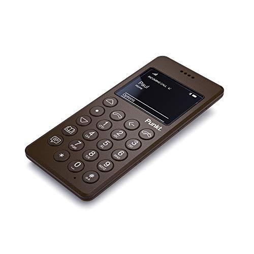 Punkt. MP01 Minimalistiche Mobiltelefon, Tastenhandy Mit Einfach mit 2 Zoll, Handy Ohne Internet, 2G, 1000 mAh, Micro-SIM, Ohne Vertrag, EU-Version - Braun