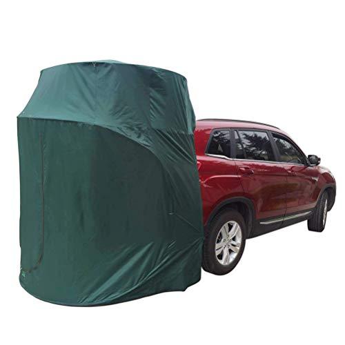 XYZLEO Carpa para Auto SUV Toldos para Coches VehíCulo Toldo De Coche Tienda De Toldo De Coche De Pie El 150x75cm con Una Altura De 200cm Toldo De La Puerta Trasera,Verde