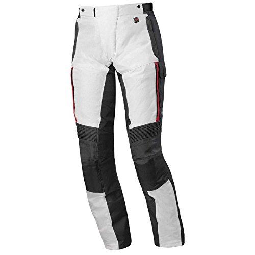 Held Torno 2 Damen Motorradhose GTX, Farbe grau-rot, Größe 3XL