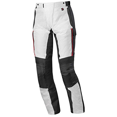 Held Torno 2 Damen Motorradhose Gtx, Farbe grau-rot, Größe S