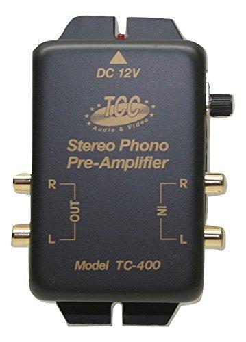 TCC TC-400G/L RIAA Phono Preamp, Pre-amp (Preamplifier)