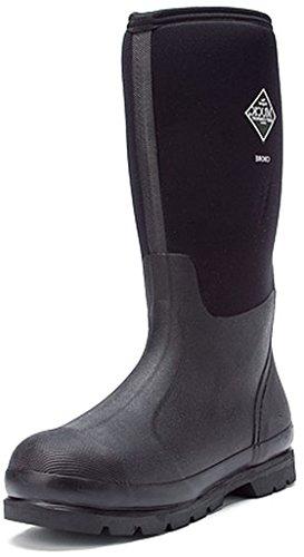 Muck Chore Classic Men's Rubber Work Boots,Black,Men's 15 M US /...