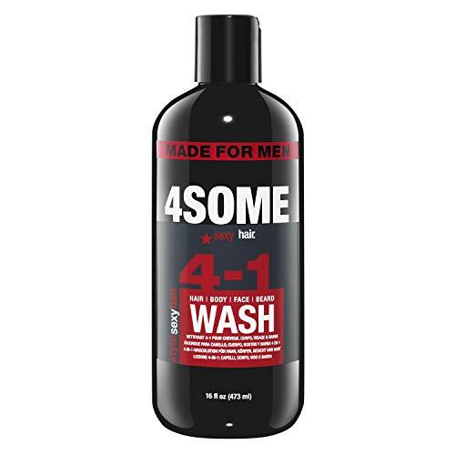 Sexy Hair Style 4SOME Hair, Body, Face & Beard Wash 473 ml