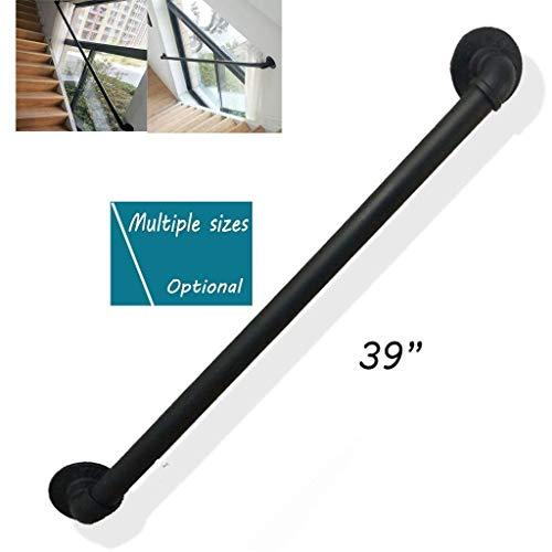 Treppenhandlauf, Wasserrohr Aus Schmiedeeisen Treppenhandlauf, Home Interior Loft Handlauf, Anti-Rutsch-Farbe Handwerk Korridor Handlauf (50-300cm Optional) ( Size : 280 cm (110 inches) )