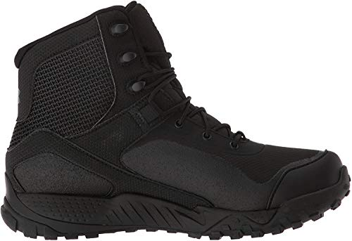 Under Armour Women's Valsetz RTS 1.5 Military and Tactical Boot, Black (001)/Black, 8.5