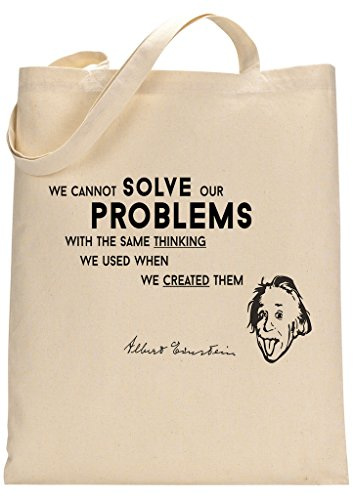 Albert Einstein Custom Made Tote Bag