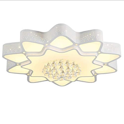 Lámparas de Techo Cristal de la lámpara llevada moderna lámpara de estudio luz de techo de la lámpara de la sala de techo dormitorio de la luz de techo de montaje empotrado Plafon Techo ( Size : S )