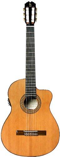 Antonio Carvalho 5C CW - Guitarra electroacústica, color natural