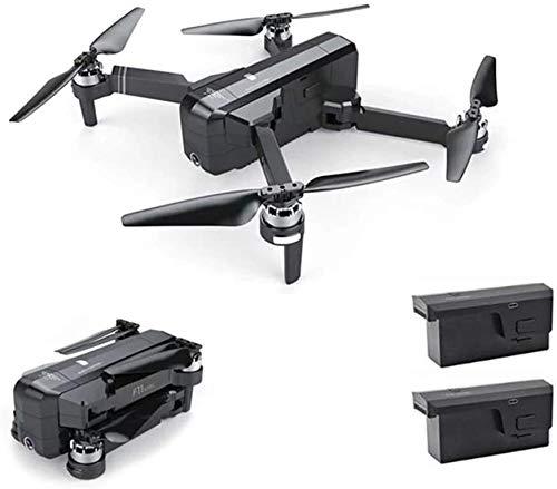 Kamera-Drohne, GPS Drone mit Wifi 4K HD-Kamera Brushless Quadcopter 25 Minuten Flugzeit faltbare, HD-Weitwinkel 120 °;Einstellbare Kamera, kann sein wie ein Geschenk for Ihr Kind, Schwarz, 1Battery Ge