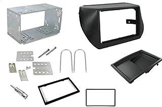 Sound Way - Kit Montaggio autoradio 2 DIN Adattatore per Fiat Fiorno Qubo, Citroen Nemo, Peugeot Bipper - 2DP-Nemo