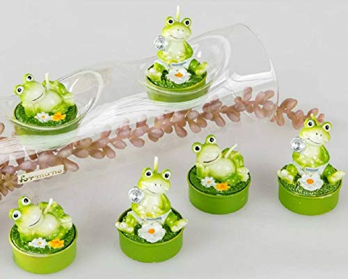 Teelichter Frosch
