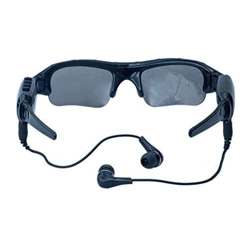 NBWS Digital multifunción Gafas de Sol del teléfono móvil, Bluetooth Gafas de Bluetooth de Auricular Manos Libres de HD 1080P cámara Mini DV de Gafas Deportes Gafas con 32GB Tarjeta de Memoria
