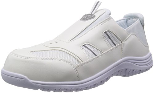 [マルゴ] 作業靴 樹脂先芯 反射素材 元祖踏めるくん クレオスプラス 810 WH 30.0 cm