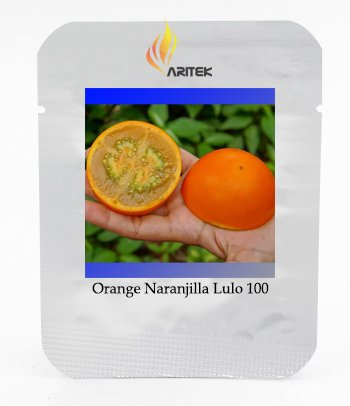 Quito orange Narangille Lulo narangille fruits Graines, Paquet professionnel, 100 graines/Pack, comestibles e3342 Discours