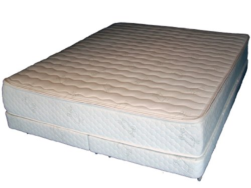 Hot Sale Posture Deluxe Organic Cotton-Natural Talalay Latex Green Mattress--DualKing