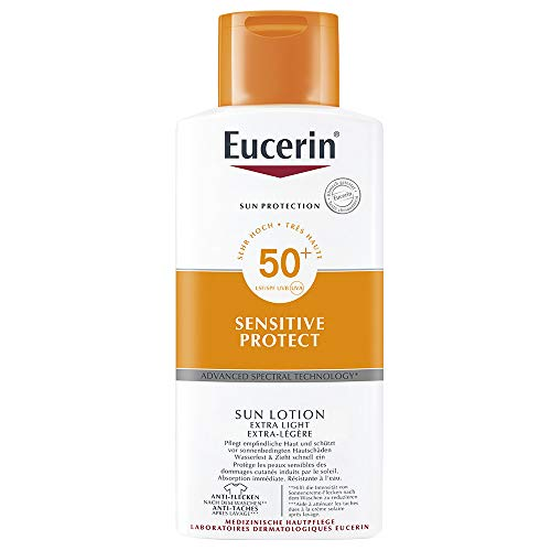 Eucerin Sensitive Protect Sun Lotion Extra Light LSF 50+, 400 ml Lotion
