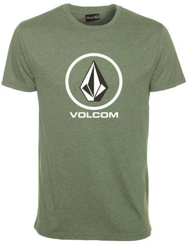 Volcom Herren T-Shirt Circle Staple Short Sleeve, Thyme Green, M